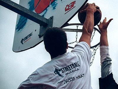 Úspěch mosteckých basketbalistek v Českém streetballovém poháru 2014