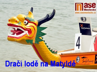 Posádky dračích lodí soupeřily na Matyldě