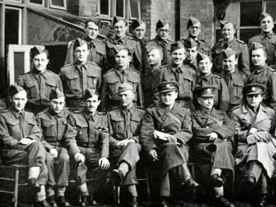 Příslušník Čs. zahraničního vojska MUDr. Herbert Hofmann
