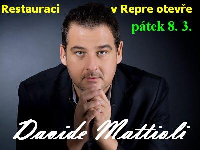 Italskou restauraci otevře zpěvák Davide Mattioli
