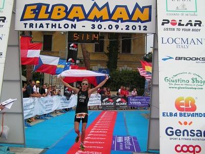 Velkého úspěchu dosáhl litvínovský triatlon při mistrovství Itálie