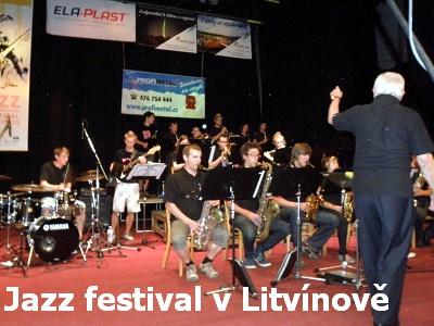 Jazz Festival v Litvínově již po čtrnácté
