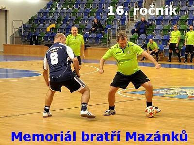 Memoriál bratří Mazánků vyhrály Teplice