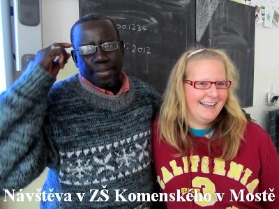 Návštěva v základní škole J. A. Komenského v Mostě