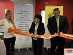 Otevření zrekonstruovaného fitness centra na ZS Ivana Hlinky v Litvínově.