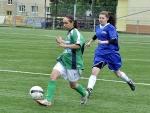 Soušské fotbalistky se proti lídrovi vytáhly