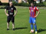 Jan Kovařík si zatrénoval s mladými fotbalisty z FŠ Most