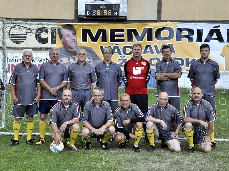 Memoriál Václava Žaloudka.  Tým FK Litvínov.